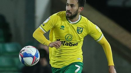 Lukas Rupp has emerged as a key figure for Norwich City this season Picture: Paul Chesterton/Focus