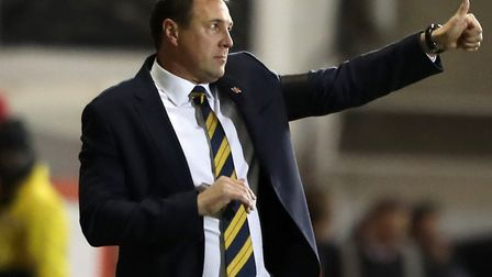 Malky Mackay, during his game as caretaker Scotland manager, has stepped down from his perfromance d