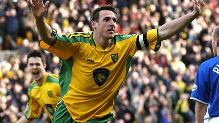 Malky Mackay scored twice as Norwich City beat local rivals Ipswich 3-1 at Carrow Road in March 2004