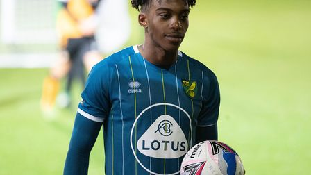 Tyrese Omotoye scored a hat-trick as Norwich City U21s won 5-0 at Newport in the EFL Trophy group st