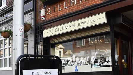 PJ Gillman Jewellers in Lowestoft are providing a service via Facebook and Instagram. Picture: Mick