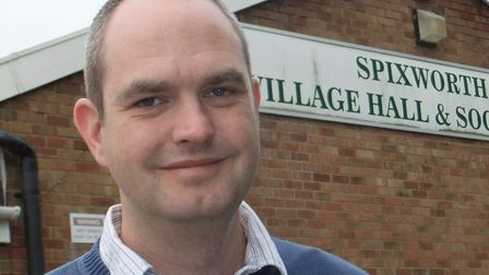 Dan Roper, Liberal Democrat councillor for Broadland District Council for the Spixworth and St Faith