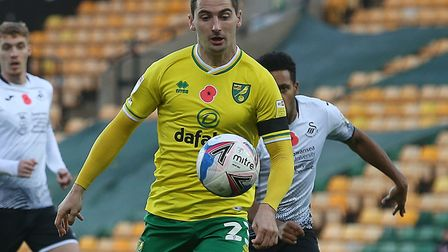 Kenny McLean helped Norwich to victory over Swansea before joining up with the Scotland squad Pictur