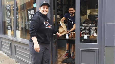 The Norwich Urban Collective delivery service started out at Grosvenor Fish Bar and now has 13 resta