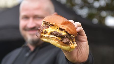 Fupburger is one of the places you can get a mouth-watering takeaway burger from in Norwich, picture
