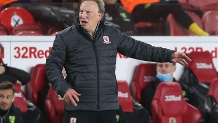 Middlesbrough manager Neil Warnock was seething at the referee's decision not to send off Norwich Ci