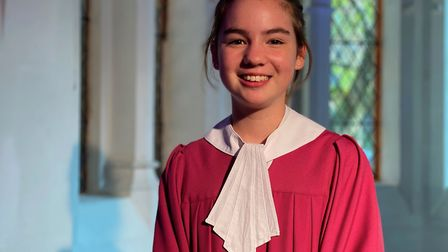 Norwich Cathedral chorister, Alice Platten, is among the five young singers that TV viewers will thi
