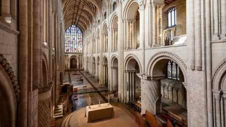 The Nave in Norwich Cathedral. Picture: Norwich Cathedral/Bill Smith
