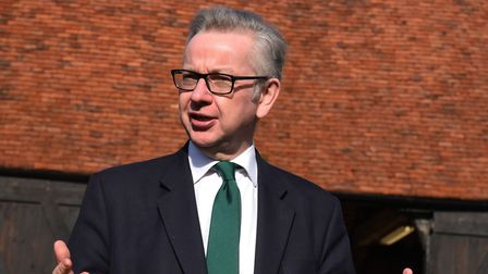 Secretary of State for Environment, Food and Rural Affairs Michael Gove MP on a visit to the Thames