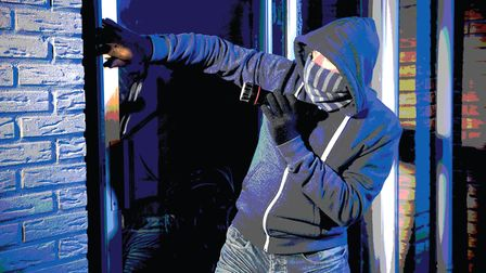 Norfolk Police have received 37 reports of burglaries in Norwich since March 30. The man in this ima