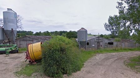 The site off Aldborough Road, Aldborourgh, where there are plans to demolish four exisitng buildings
