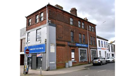 The former Lowestoft Electrical store building. Picture: Mick Howes