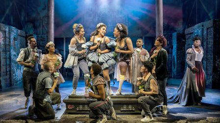 Tim Walker says '& juliet', at Shaftesbury Theatre in London, is let down by its lack of heart. Pict