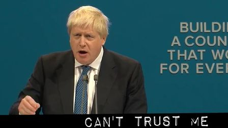 Boris Johnson has been given the Cassetteboy treatment with a mashup to the tune of MC Hammer. Pictu