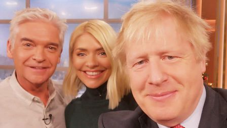 The selfie that Boris Johnson took. But with which phone? Picture: Boris Johnson