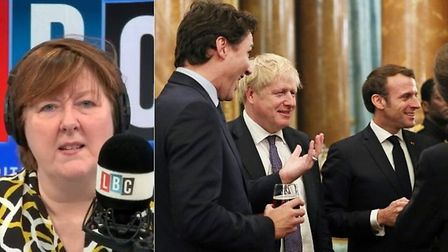 """Boris Johnson will fail to deliver Brexit because he is """"in with Macron"""", according to an irate LBC"""