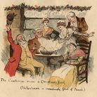 The Christmas custom of wassailing, drinking, revelling and singing carols from house to house