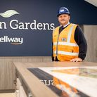 Simon Blackburn, site manager at Blagdon Gardens Bellway development. Winner of a Seal of Excellenceaward.