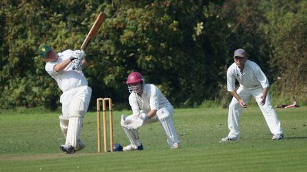 Matt Brewster batting for Tipton in the home win over Yarcombe and Stockland. Picture PHIL WRIGHT