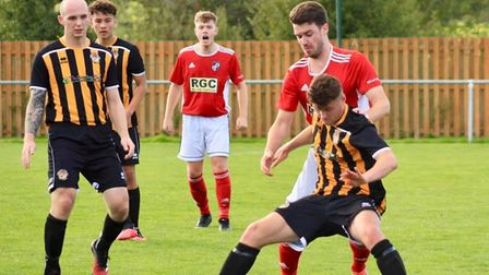 Action from the Axminster Town 2-1 defeat to Dartmouth on the opening day of the new South West Peninsula League Prmeier...