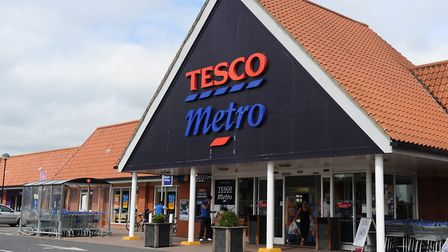 John Bloomer is alleged to have assaulted a member of staff at the Tesco store in Kesgrave Picture: ARCHANT