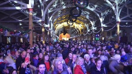 Barnstaple Christmas lights switch on 2019. Picture: AW Photographic