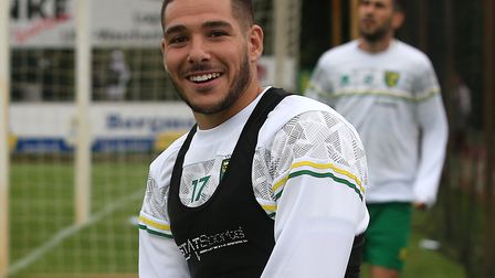 Emi Buendia insists his head hasn't been turned despite speculation linking him with a move away. Picture: Paul...