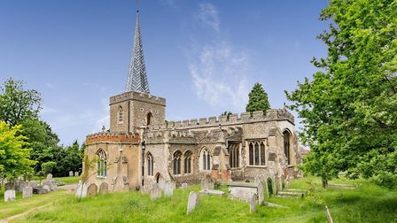 St Nicholas Church, which has a 900-year-old tower and 14th century spire, is the oldest building in Stevenage. Picture...