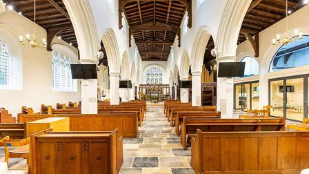 Reverend Dave Brown says they are absolutely delighted with the completed renovation. Picture: Trevor Coultart Photography