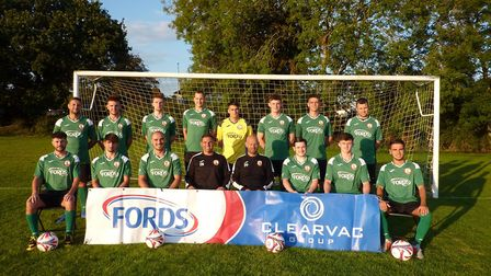 Sidmouth Town Football Club ahead of the 2020/21 South West Peninsula League Premier East campaign. Picture: STFC