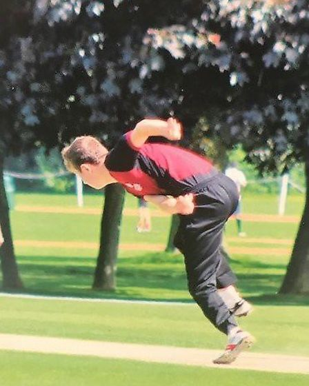 Cameron plays youth cricket for Suffolk Picture: SUPPLIED BY ADDENBROOKE'S HOSPITAL