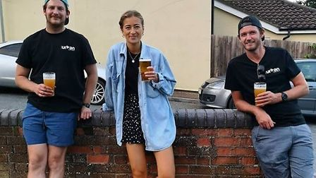The Urban Eatery team - Freddie Griggs, Amelia Balding and Darcy Mcleod Picture: Contributed