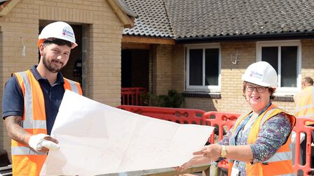 The NSFT has started a £1.3million revamp of two bungalows at its Walker Close facility in Ipswich.