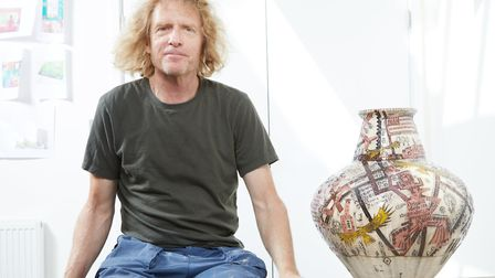 Grayson Perry. Picture: RICHARD ANSETT