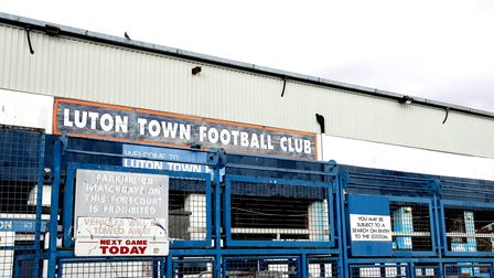 Luton Town's Kenilworth Road stadium could welcome fans for next week's game against Norwich City Pi