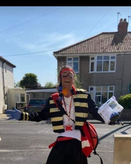 Postie Terry Barnes Adam Ant or a pirate?