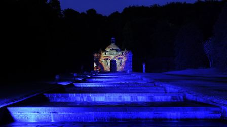 The Cascade as it will look for Luminaire at Chatsworth