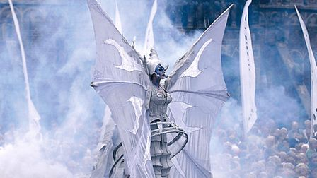 Close Act's White Wings show