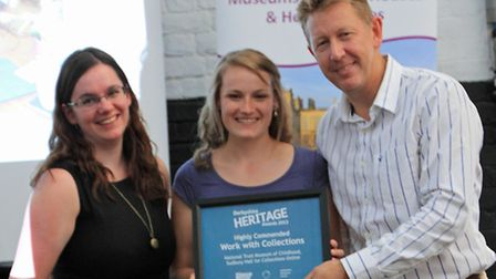 NT Museum of Childhood, Sudbury were Highly Commended