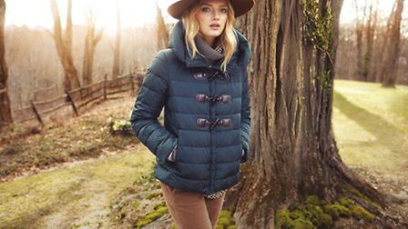 Autumn layers from Weekend by Max Mara, a range stocked at Young Ideas, St John St, Ashbourne