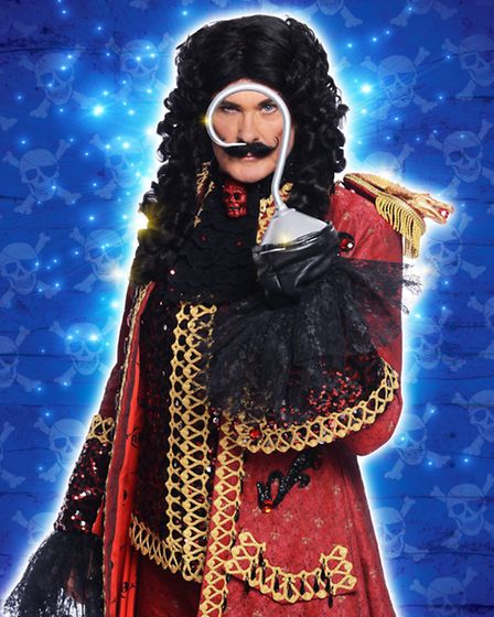 David Hasselhoff in Peter Pan at Theatre Royal Nottingham