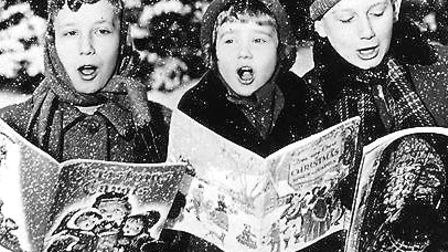 Carol singing in the 20th century