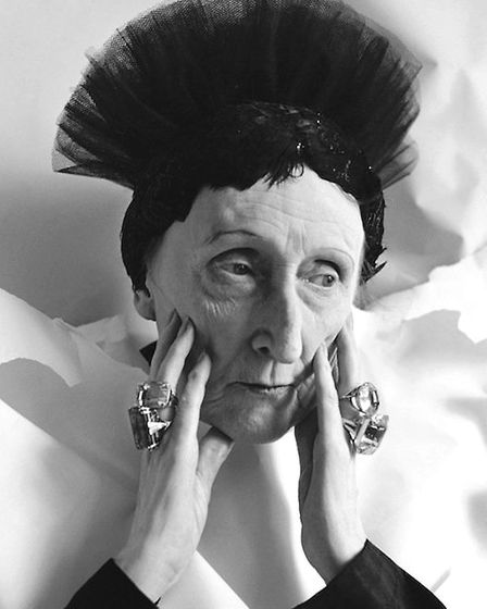 The redoubtable Dame Edith Sitwell - not at all a fan of the festive season