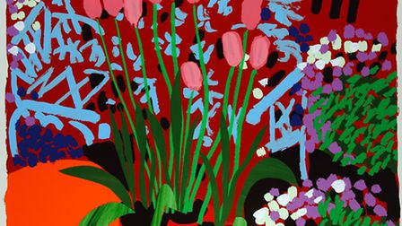 'Tall Dutch Tulips' by Bruce McLean
