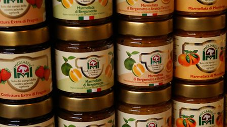 Supplier Francesco Migliarese's fruit jam and marmalade contains 75% fruit per 100g (the majority in the UK contain approx ...