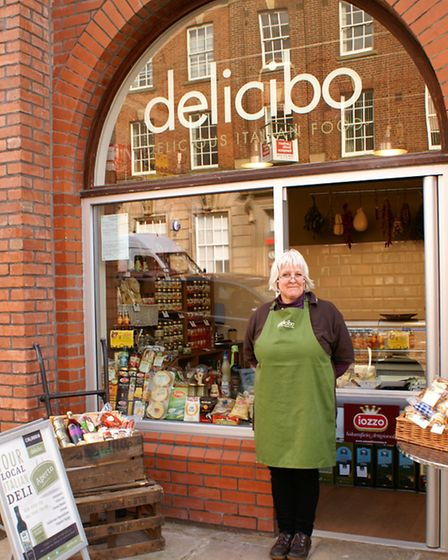 Delicibo is part of the new Market Hall complex in Chesterfield