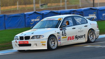 Ian Lawson and Anthony Wilds took the Production Cup title in their BMW E36