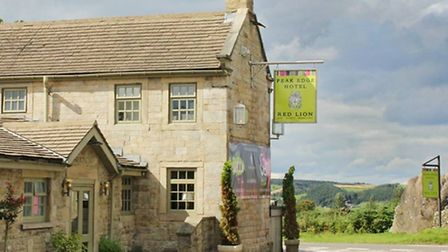 The Red Lion Bar & Bistro at Peak Edge Hotel, Stonedge, nr Chesterfield