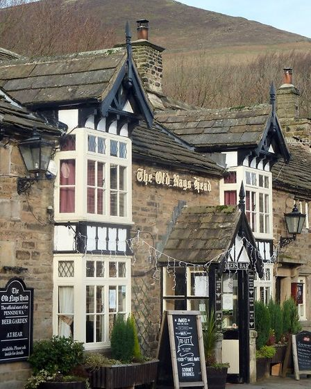 The Old Nag's Head, official start of the Pennine Way