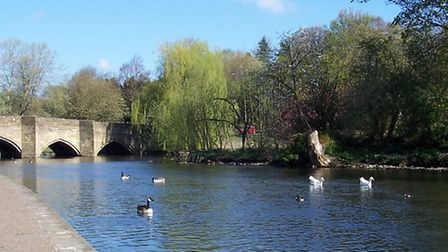 By the Wye at Bakewell